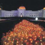 Султан открыл Фестиваль света в Шардже