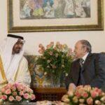Президент Алжира принял Мохамед бин Заеда