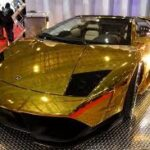 Золотой ломбарджини